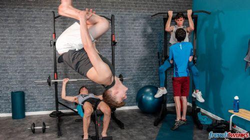 Orgy at Gym 5
