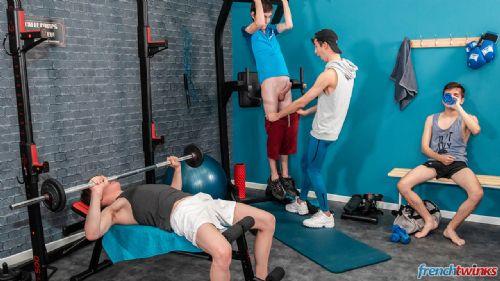 Orgy at Gym 8