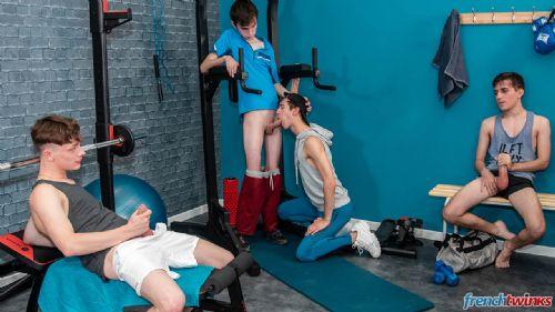 Orgy at Gym 16