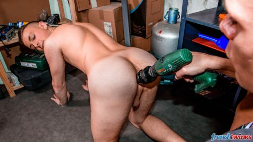 Handyman for twink's ass 8