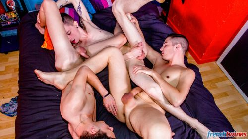 No limit threeway and fisted twink 4