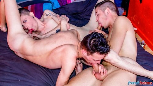 No limit threeway and fisted twink 5