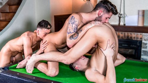 Three Twink holes on the pool table 14