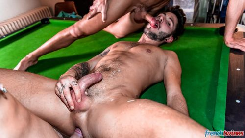 Three Twink holes on the pool table 23