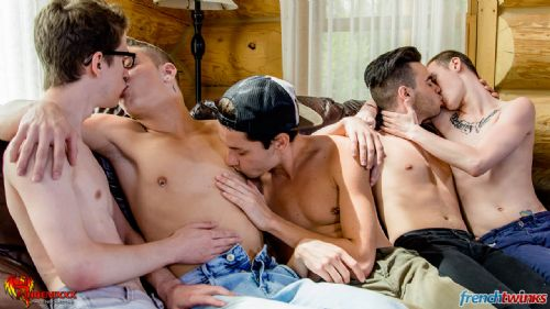 Gay Gang Bang gets explosive in Quebec 6