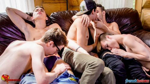 Gay Gang Bang gets explosive in Quebec 13