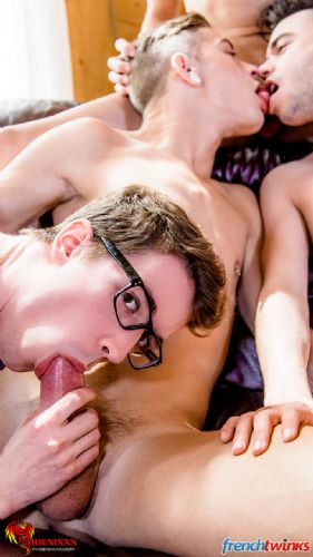 Gay Gang Bang gets explosive in Quebec 22