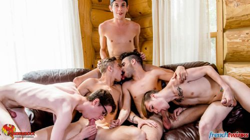 Gay Gang Bang gets explosive in Quebec 23