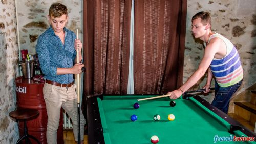 Twinks Fucking on the pool table 4