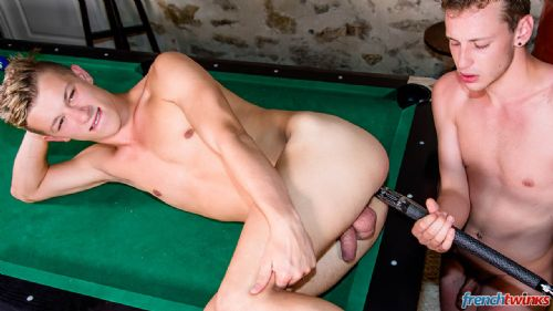Twinks Fucking on the pool table 32