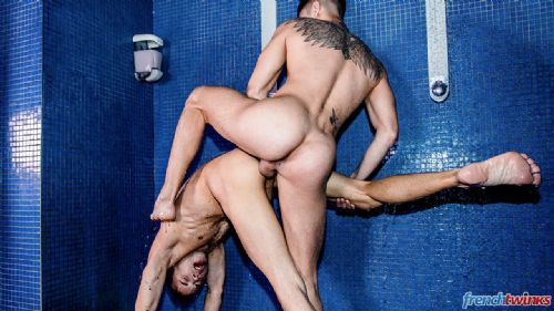 Angel Cruz et Baptiste Garcia douche de sperme 23