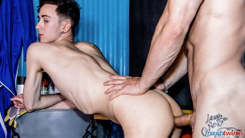 Apprentice fucked by his boss 23