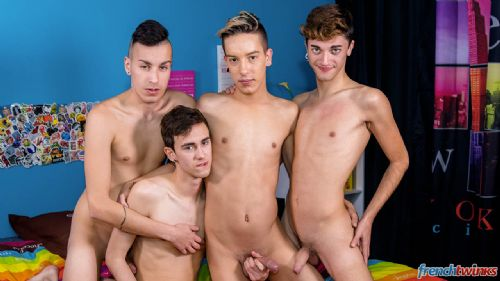 A Dreamy Twinks Orgy 28
