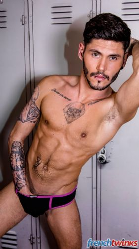 Acteur porno gay Edouard Kate 17