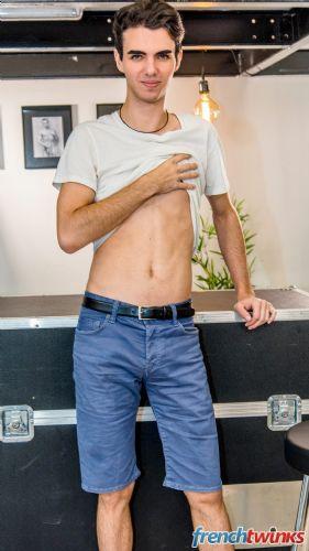 Gay Twink Porn Model Thomas Leconte 1