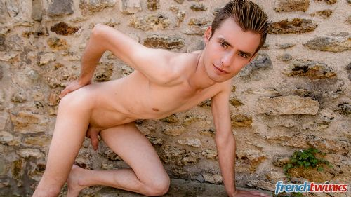 Gay Twink Porn Model Timothé Besse 3