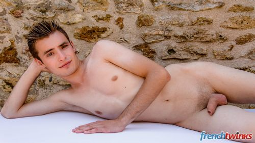 Gay Twink Porn Model Timothé Besse 4
