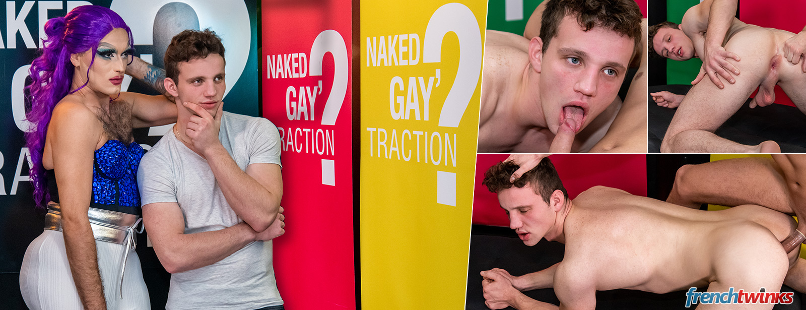 Naked GayTraction Robin
