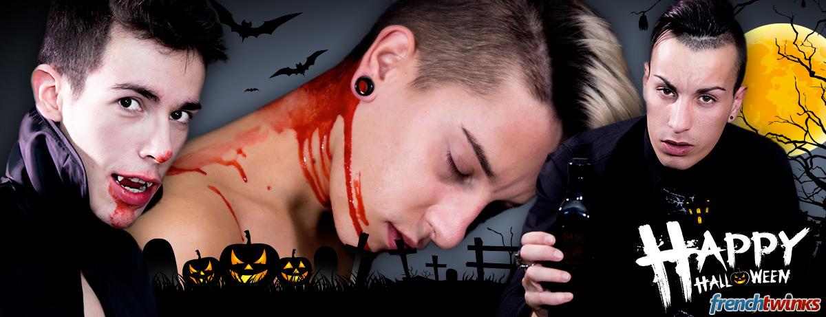 Baisé par des vampires pour Halloween