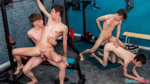 Orgy at Gym