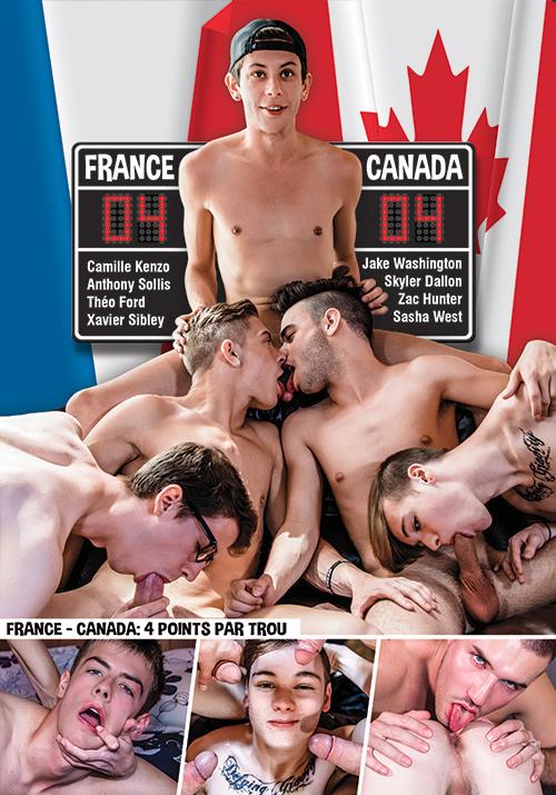 France VS Canada 4 points par trou