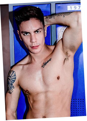 Gay Twink Porn Model Angel Cruz