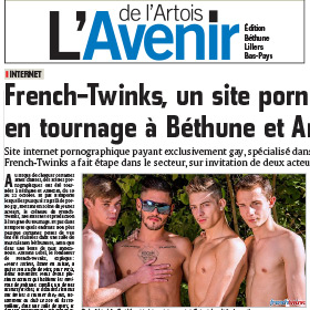 A gay porn shooting in French countryside