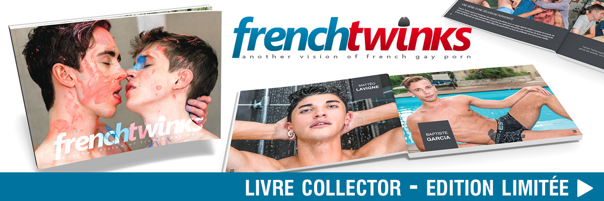 Livre Collector French Twinks