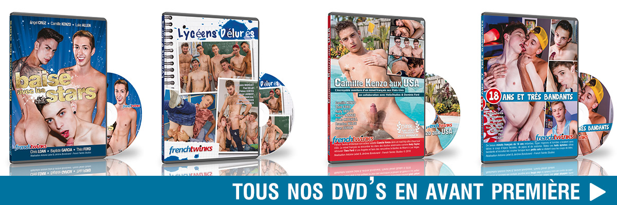 Dvd Gay French Twinks